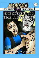 Pep  Squad Mysteries Book 12: Monsters on the Movie Set